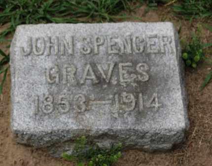 GRAVES, JOHN SPENCER - Erie County, Ohio | JOHN SPENCER GRAVES - Ohio Gravestone Photos