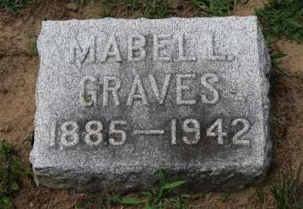 GRAVES, MABELL - Erie County, Ohio   MABELL GRAVES - Ohio Gravestone Photos