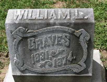 GRAVES, WILLIAM L. - Erie County, Ohio   WILLIAM L. GRAVES - Ohio Gravestone Photos