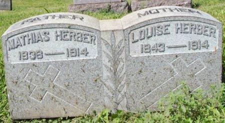 HERBER, MATHIAS - Erie County, Ohio   MATHIAS HERBER - Ohio Gravestone Photos