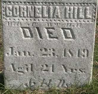 HILL, CORNELIA - Erie County, Ohio   CORNELIA HILL - Ohio Gravestone Photos