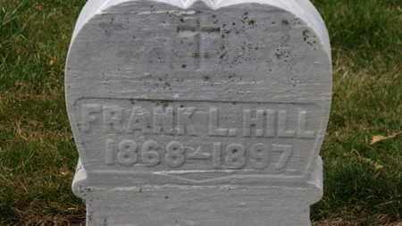 HILL, FRANK L. - Erie County, Ohio   FRANK L. HILL - Ohio Gravestone Photos