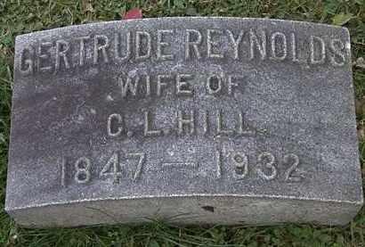 HILL, GERTRUDE - Erie County, Ohio | GERTRUDE HILL - Ohio Gravestone Photos
