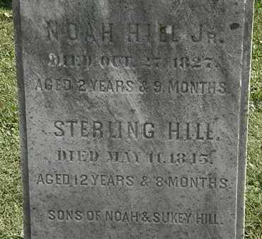 HILL, NOAH - Erie County, Ohio | NOAH HILL - Ohio Gravestone Photos