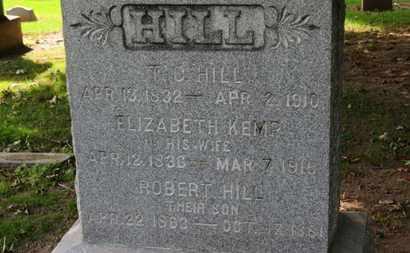 HILL, ROBERT - Erie County, Ohio   ROBERT HILL - Ohio Gravestone Photos
