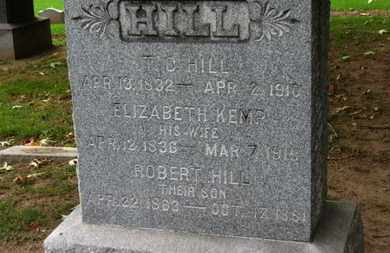 HILL, ROBERT - Erie County, Ohio | ROBERT HILL - Ohio Gravestone Photos