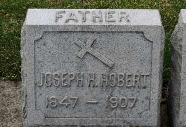 HOBERT, JOSEPH H. - Erie County, Ohio | JOSEPH H. HOBERT - Ohio Gravestone Photos