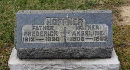 HOFFNER, FREDERICK - Erie County, Ohio   FREDERICK HOFFNER - Ohio Gravestone Photos