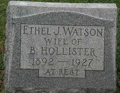 HOLLISTER, B. - Erie County, Ohio | B. HOLLISTER - Ohio Gravestone Photos