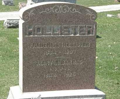 HOLLISTER, MARY A. - Erie County, Ohio | MARY A. HOLLISTER - Ohio Gravestone Photos