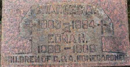 HOMEGARDNER, C. - Erie County, Ohio   C. HOMEGARDNER - Ohio Gravestone Photos