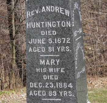 HUNTINGTON, MARY - Erie County, Ohio | MARY HUNTINGTON - Ohio Gravestone Photos