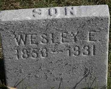 JEFFERSON, WESLEY E. - Erie County, Ohio   WESLEY E. JEFFERSON - Ohio Gravestone Photos