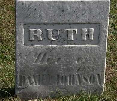 JOHNSON, RUTH - Erie County, Ohio   RUTH JOHNSON - Ohio Gravestone Photos