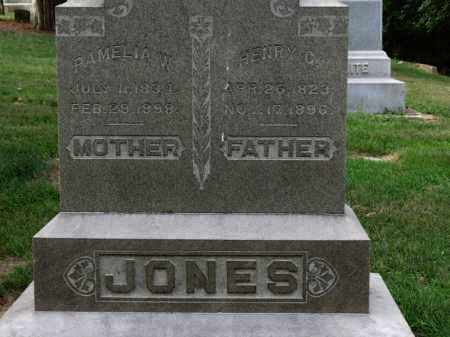 JONES, PAMELIA W. - Erie County, Ohio | PAMELIA W. JONES - Ohio Gravestone Photos