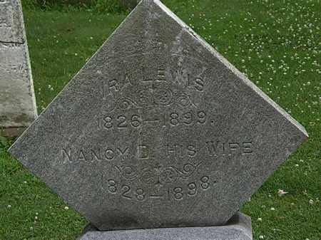 LEWIS, IRA - Erie County, Ohio   IRA LEWIS - Ohio Gravestone Photos