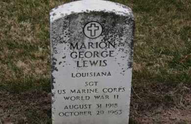 LEWIS, MARION GEORGE - Erie County, Ohio | MARION GEORGE LEWIS - Ohio Gravestone Photos