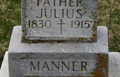 MANNER, JULIUS - Erie County, Ohio   JULIUS MANNER - Ohio Gravestone Photos