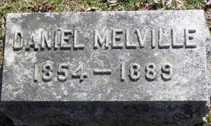 MELVILLE, DANIEL - Erie County, Ohio | DANIEL MELVILLE - Ohio Gravestone Photos