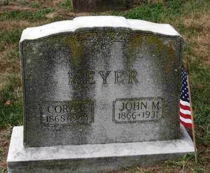 MEYER, CORA L. - Erie County, Ohio | CORA L. MEYER - Ohio Gravestone Photos