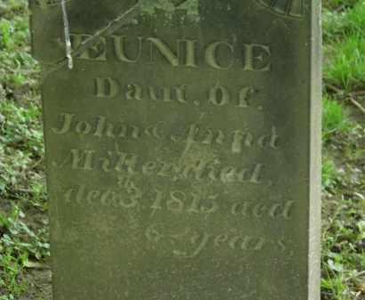 MILLER, EUNICE - Erie County, Ohio | EUNICE MILLER - Ohio Gravestone Photos