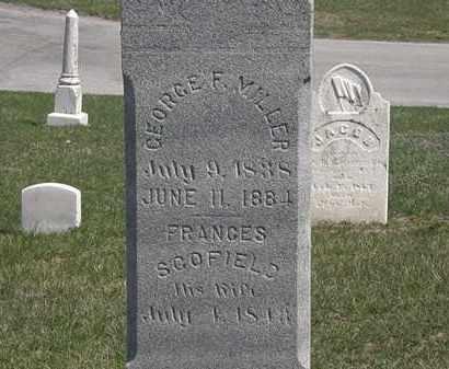 MILLER, GEORGE F - Erie County, Ohio   GEORGE F MILLER - Ohio Gravestone Photos