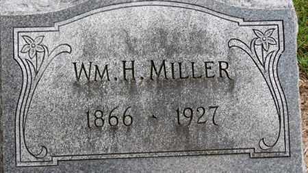 MILLER, WM. H. - Erie County, Ohio   WM. H. MILLER - Ohio Gravestone Photos