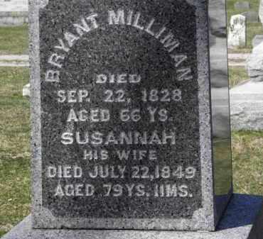 MILLIMAN, BRYANT - Erie County, Ohio   BRYANT MILLIMAN - Ohio Gravestone Photos
