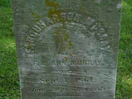 MURRAY, ?? - Erie County, Ohio | ?? MURRAY - Ohio Gravestone Photos