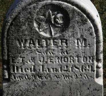 NORTON, WALTER M. - Erie County, Ohio | WALTER M. NORTON - Ohio Gravestone Photos