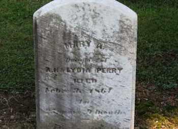 PERRY, MARY A. - Erie County, Ohio | MARY A. PERRY - Ohio Gravestone Photos