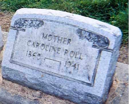 ROLL, CAROLINE - Erie County, Ohio   CAROLINE ROLL - Ohio Gravestone Photos
