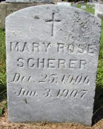 SCHERER, MARY - Erie County, Ohio | MARY SCHERER - Ohio Gravestone Photos