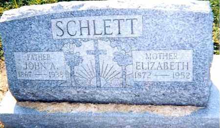 SCHLETT,, ELIZABETH - Erie County, Ohio | ELIZABETH SCHLETT, - Ohio Gravestone Photos