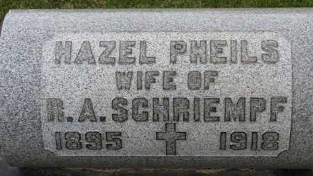 PHEILS SCHRIEMPF, HAZEL - Erie County, Ohio | HAZEL PHEILS SCHRIEMPF - Ohio Gravestone Photos