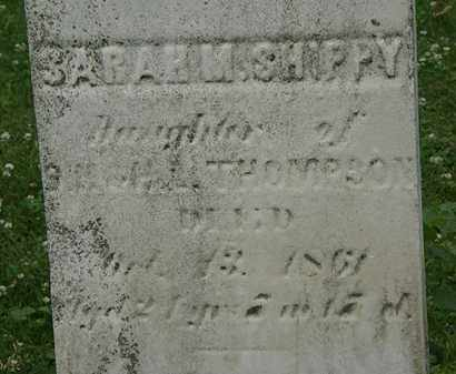 THOMPSON, ?? - Erie County, Ohio | ?? THOMPSON - Ohio Gravestone Photos