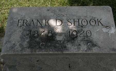 SHOOK, FRANK D. - Erie County, Ohio   FRANK D. SHOOK - Ohio Gravestone Photos