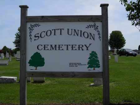 SIGN, CEMETERY - Erie County, Ohio   CEMETERY SIGN - Ohio Gravestone Photos