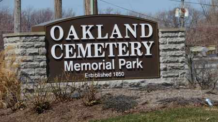 SIGN, CEMETERY - Erie County, Ohio | CEMETERY SIGN - Ohio Gravestone Photos