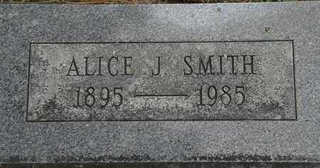 SMITH, ALICE J. - Erie County, Ohio | ALICE J. SMITH - Ohio Gravestone Photos