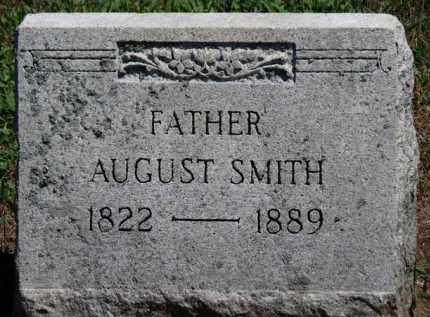 SMITH, AUGUST - Erie County, Ohio   AUGUST SMITH - Ohio Gravestone Photos