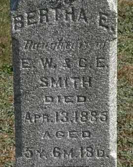 SMITH, C.E. - Erie County, Ohio | C.E. SMITH - Ohio Gravestone Photos