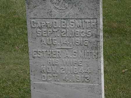 SMITH, CAPT. O.B. - Erie County, Ohio | CAPT. O.B. SMITH - Ohio Gravestone Photos