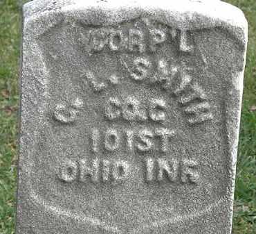 SMITH, CORP'L  C.L. - Erie County, Ohio   CORP'L  C.L. SMITH - Ohio Gravestone Photos