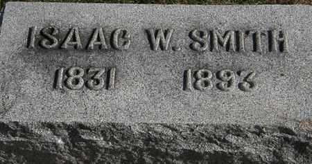 SMITH, ISAAC W. - Erie County, Ohio   ISAAC W. SMITH - Ohio Gravestone Photos