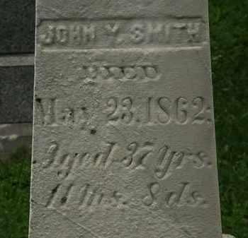 SMITH, JOHN Y. - Erie County, Ohio   JOHN Y. SMITH - Ohio Gravestone Photos