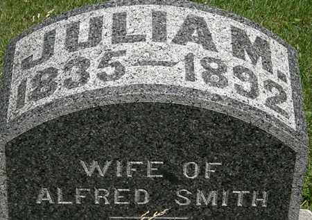 SMITH, JULIA M. - Erie County, Ohio | JULIA M. SMITH - Ohio Gravestone Photos