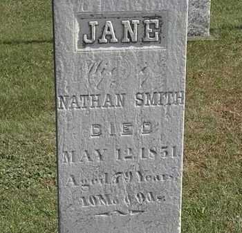 SMITH, JANE - Erie County, Ohio   JANE SMITH - Ohio Gravestone Photos