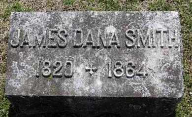 SMITH, JAMES DANA - Erie County, Ohio   JAMES DANA SMITH - Ohio Gravestone Photos