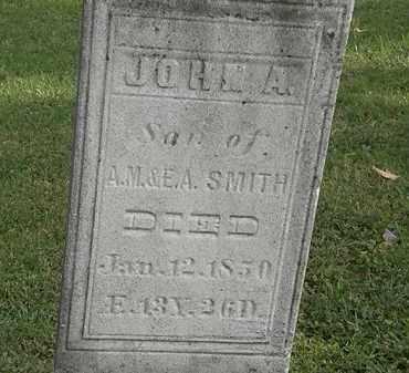 SMITH, JOHN A. - Erie County, Ohio | JOHN A. SMITH - Ohio Gravestone Photos